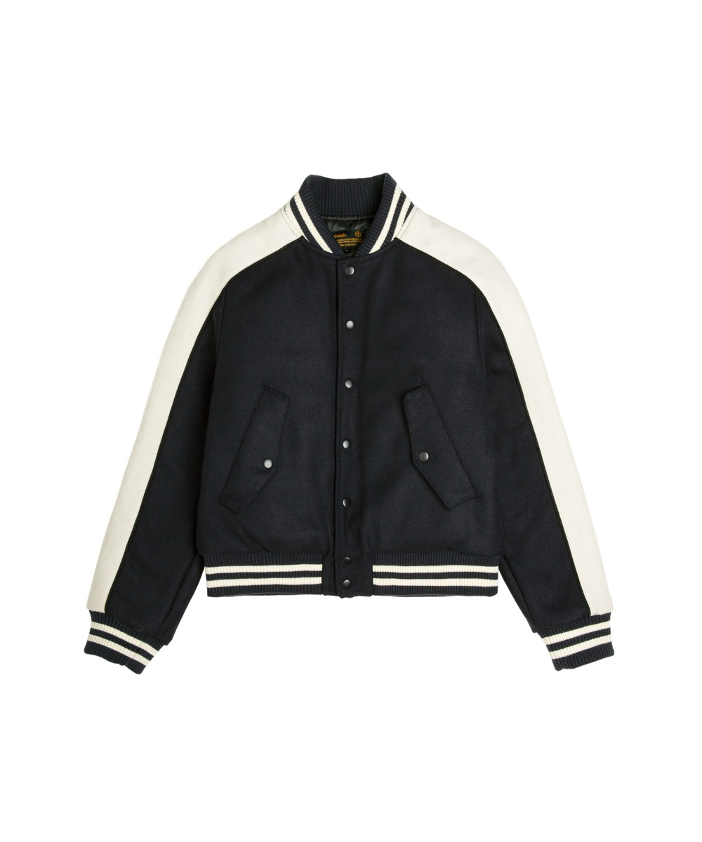 VJ-1012 Stadium Wool Jacket_NV