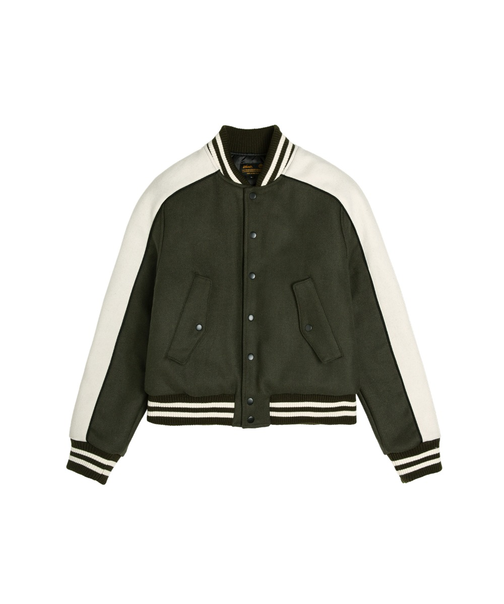 VJ-1012 Stadium Wool Jacket_KH